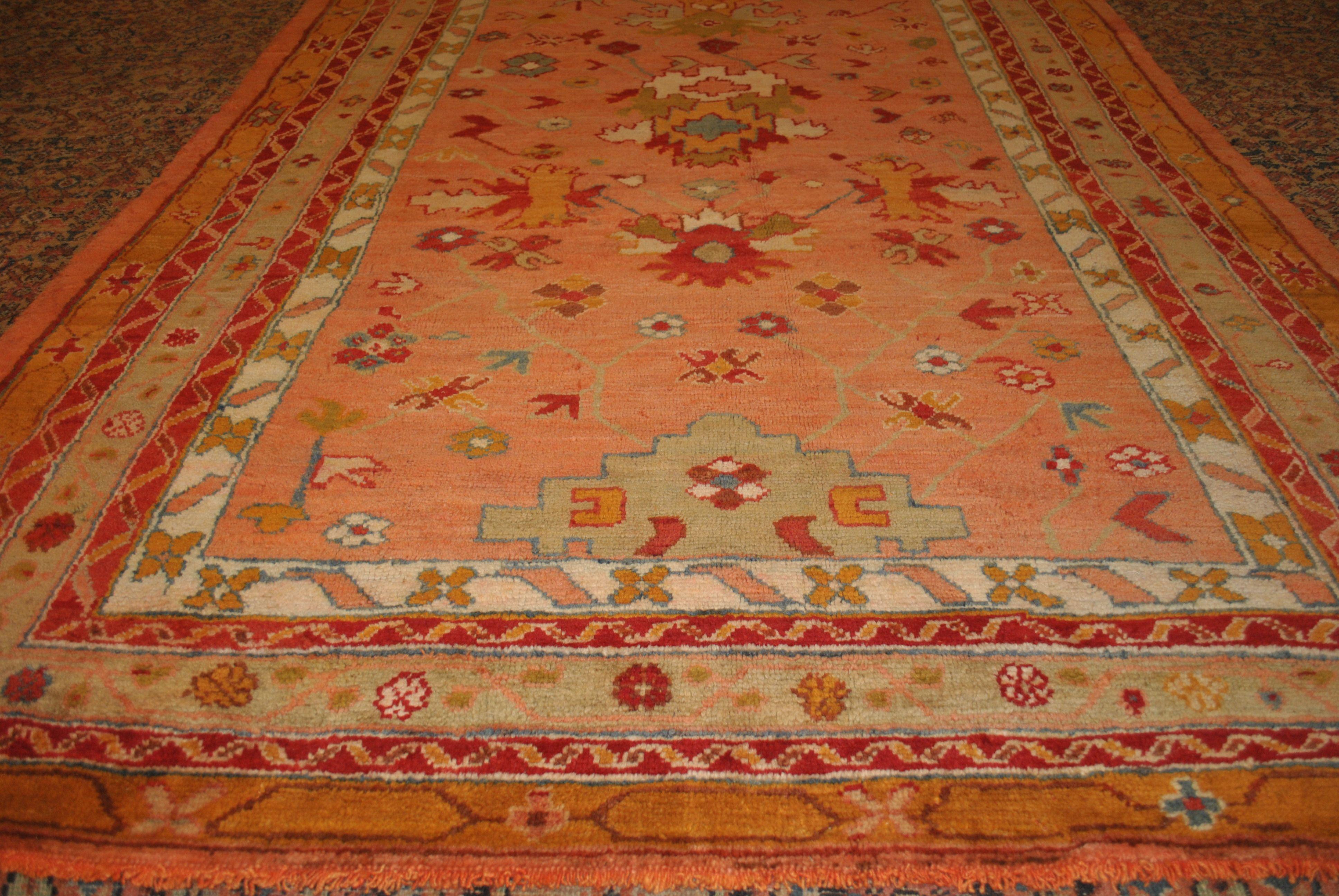 FR5452 Antique Turkish Oushak. Color. Home Décor. Rugs. Antique Rugs. Vintage Rugs. Old Rugs. Oushak. Farzin Rugs. Dallas, Tx