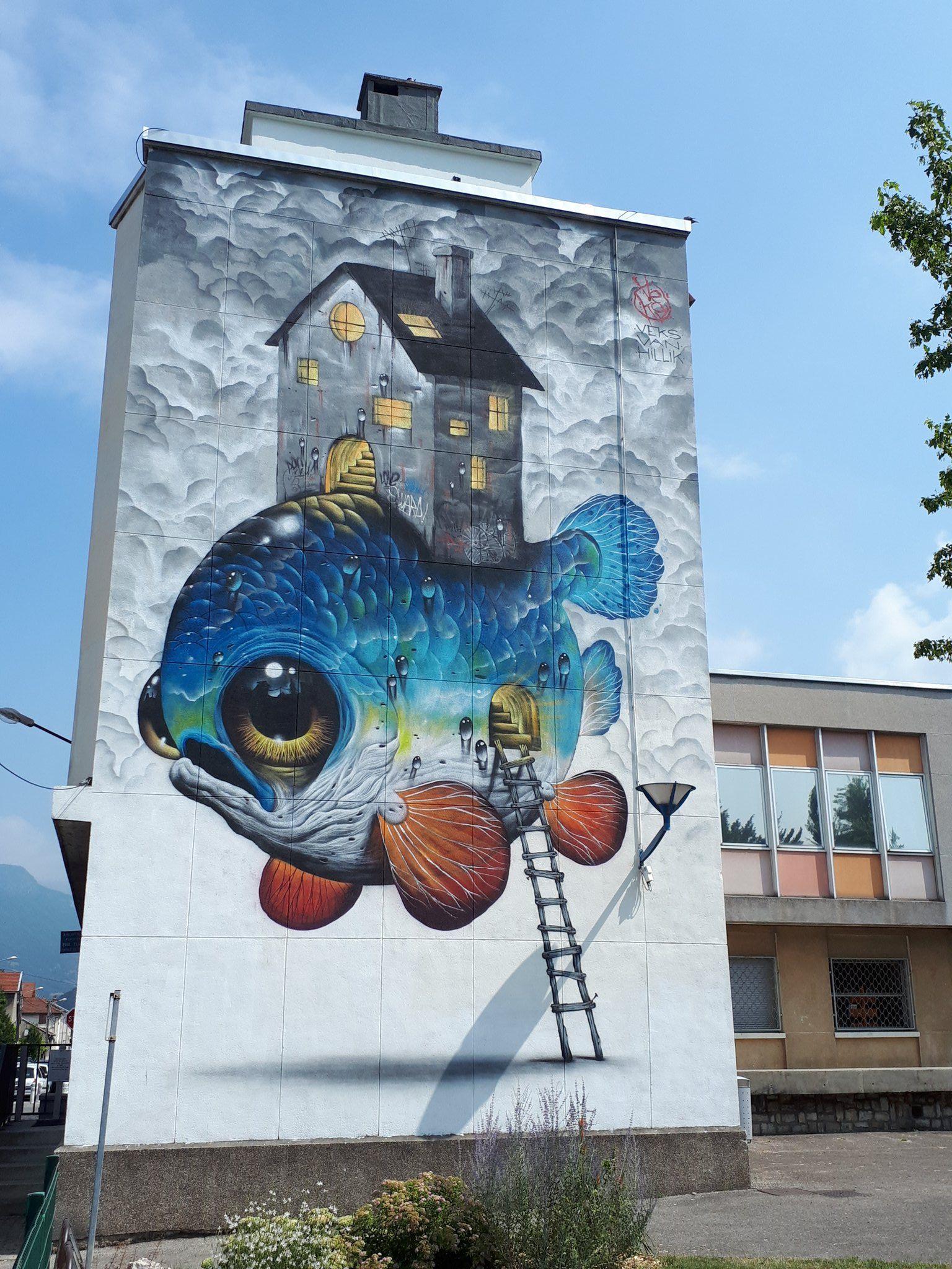 Grenoble Street Art Gstreetartfest Twitter Murals Street