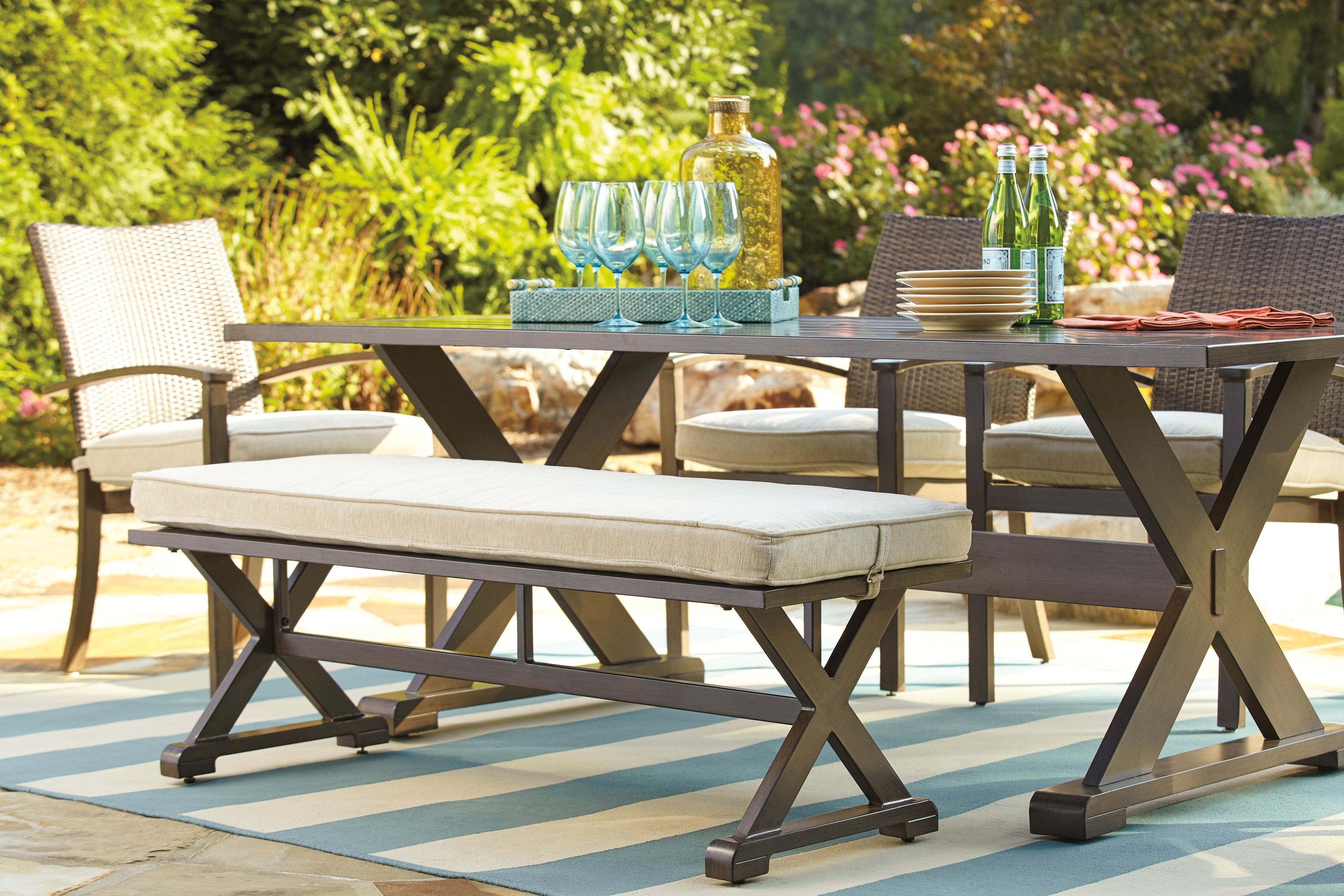 Sweet Dreams Are Made Of This Summer Outdooroasis Outdoorfurniture Outdoor Furniture Rustic Outdoor Furniture Metal Outdoor Furniture