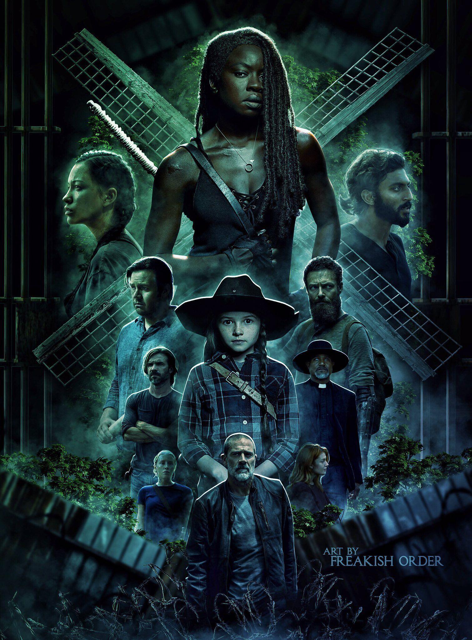 The Walking Dead Season 10 Episode 03 Online Walking Dead Art