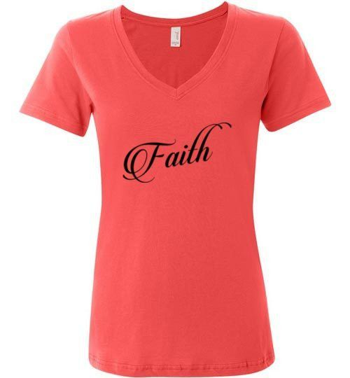 Lord Makes Everything Happen (Anvil Ladies V-Neck)