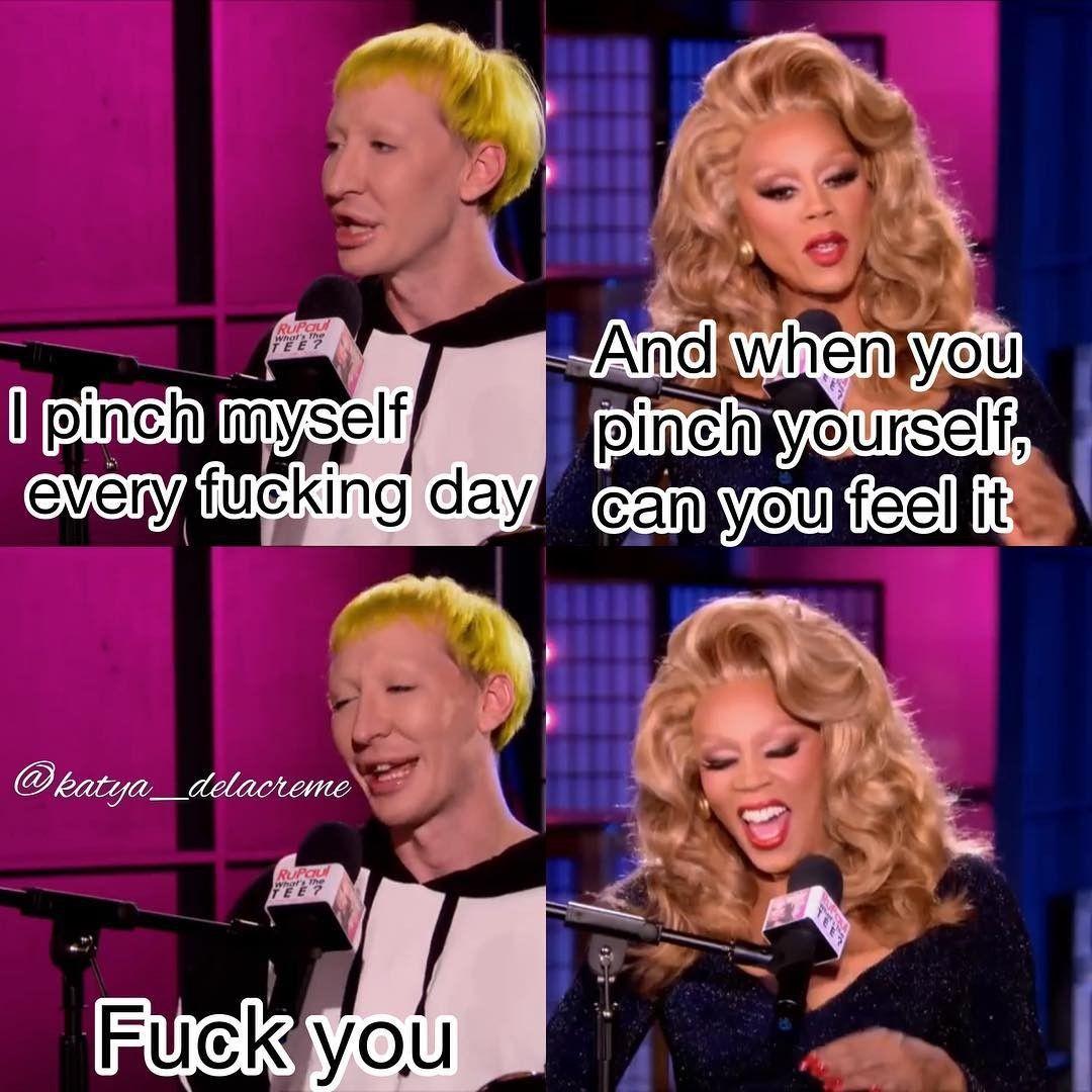 Detox Icunt And Friend Rupauls Drag Race Quotes Rupauls Drag Race Funny Rupauls Drag Race Meme