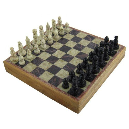 Buy Unique Stone Chess Sets And Board With Storage Box 12 Inches X 12 Inches Topvintagestyle Com Free Delivery Stone Chess Set Chess Board Chess Set Unique