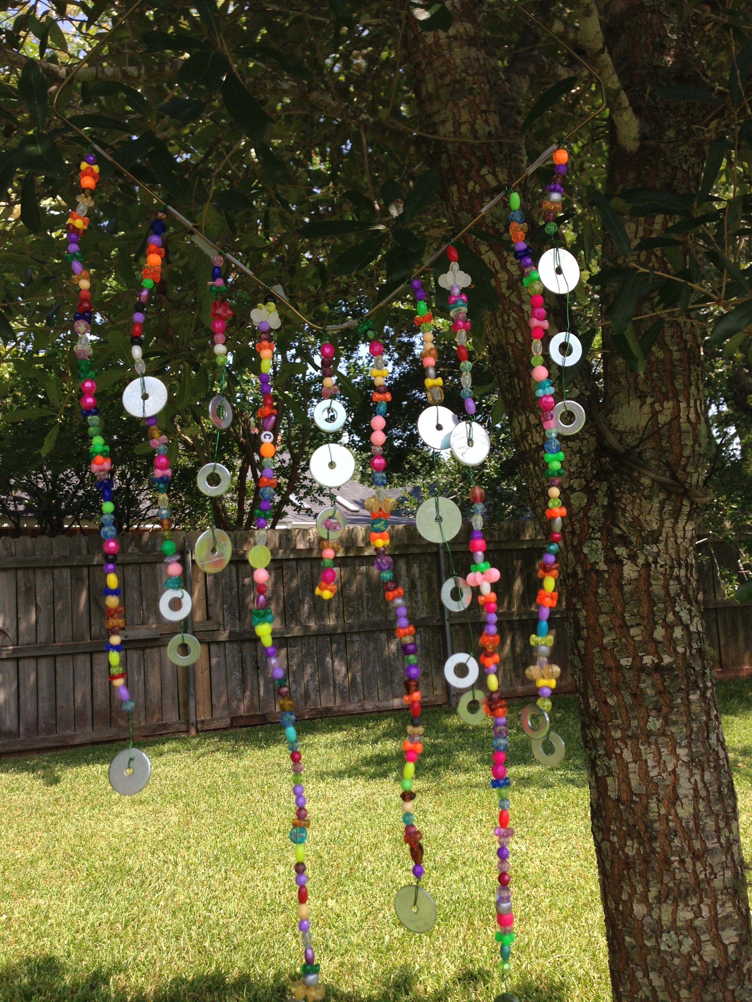 Diy Garden Art Glass And Bead Sun Catchers For School Love