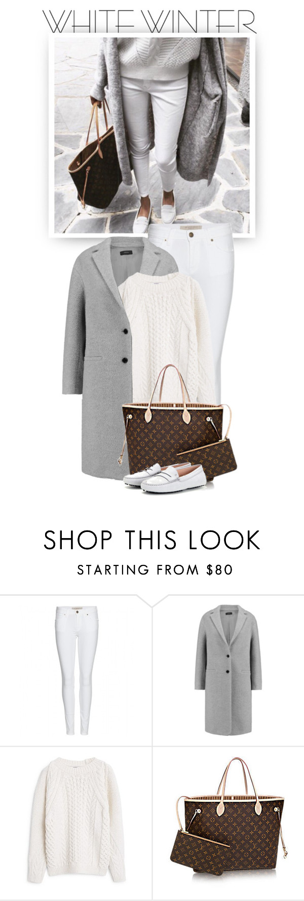 """White Winter Warmth"" by hollowpoint-smile ❤ liked on Polyvore featuring Burberry, Joseph, MANGO, Tod's, women's clothing, women's fashion, women, female, woman and misses"