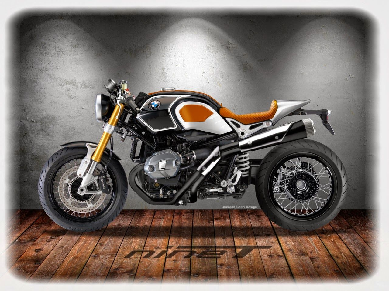 4d7df56f DESIGNER'S CUT Cafè Racer Projects: BMW R NINE-T CUSTOM | Designer's ...