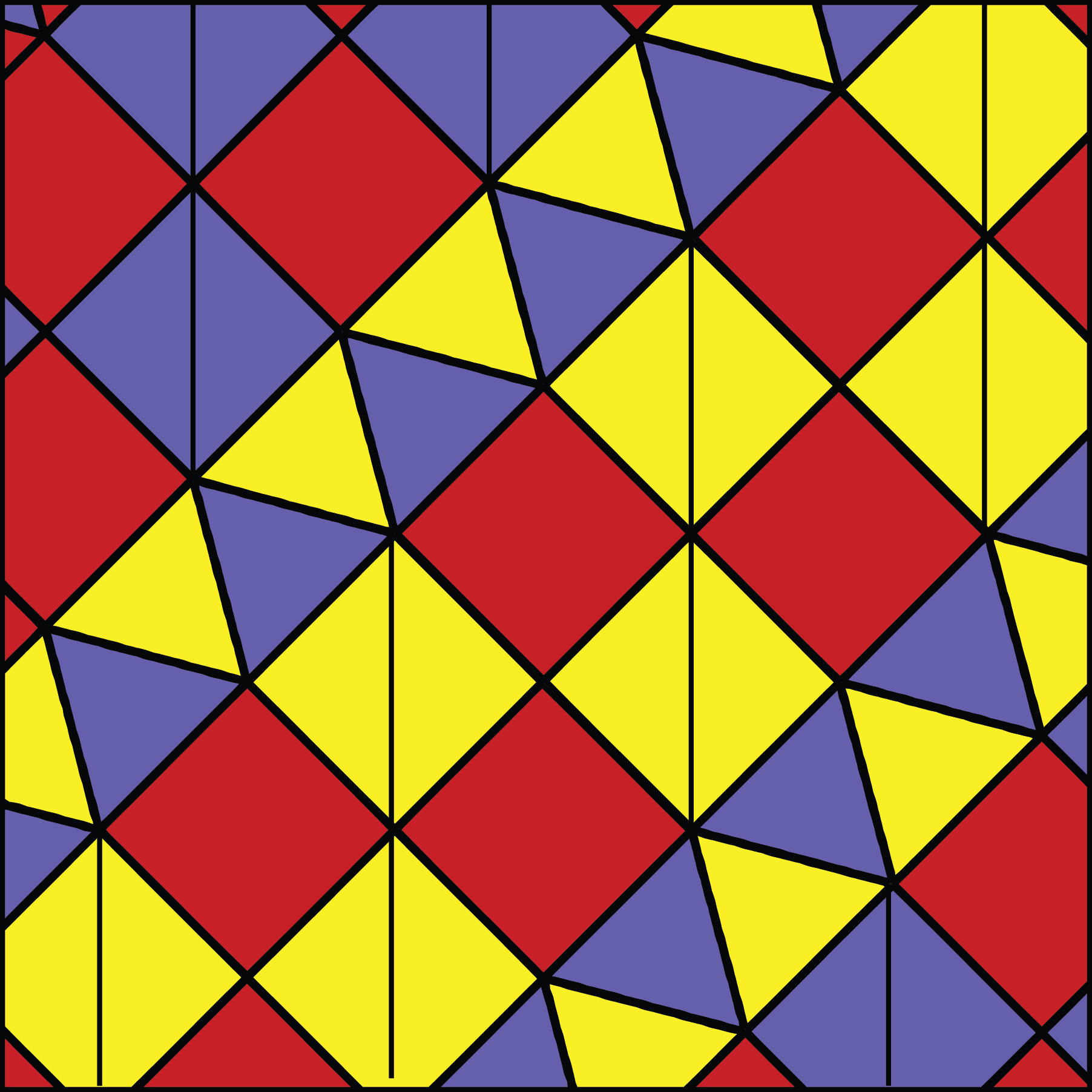 Triadic Color Scheme Examples pattern f34f. red, yellow, blue as a primary triad color scheme