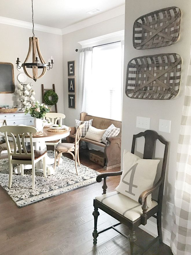 Boho Farmhouse Dining Room