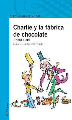 Prisioneras de libros: Charlie y la fábrica de chocolate + Charlie y el g...