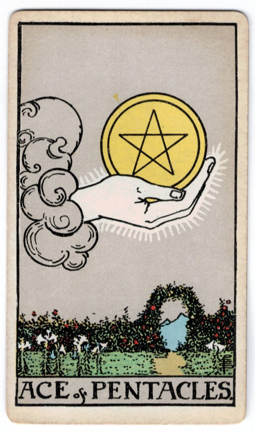 Image result for ace of pentacles