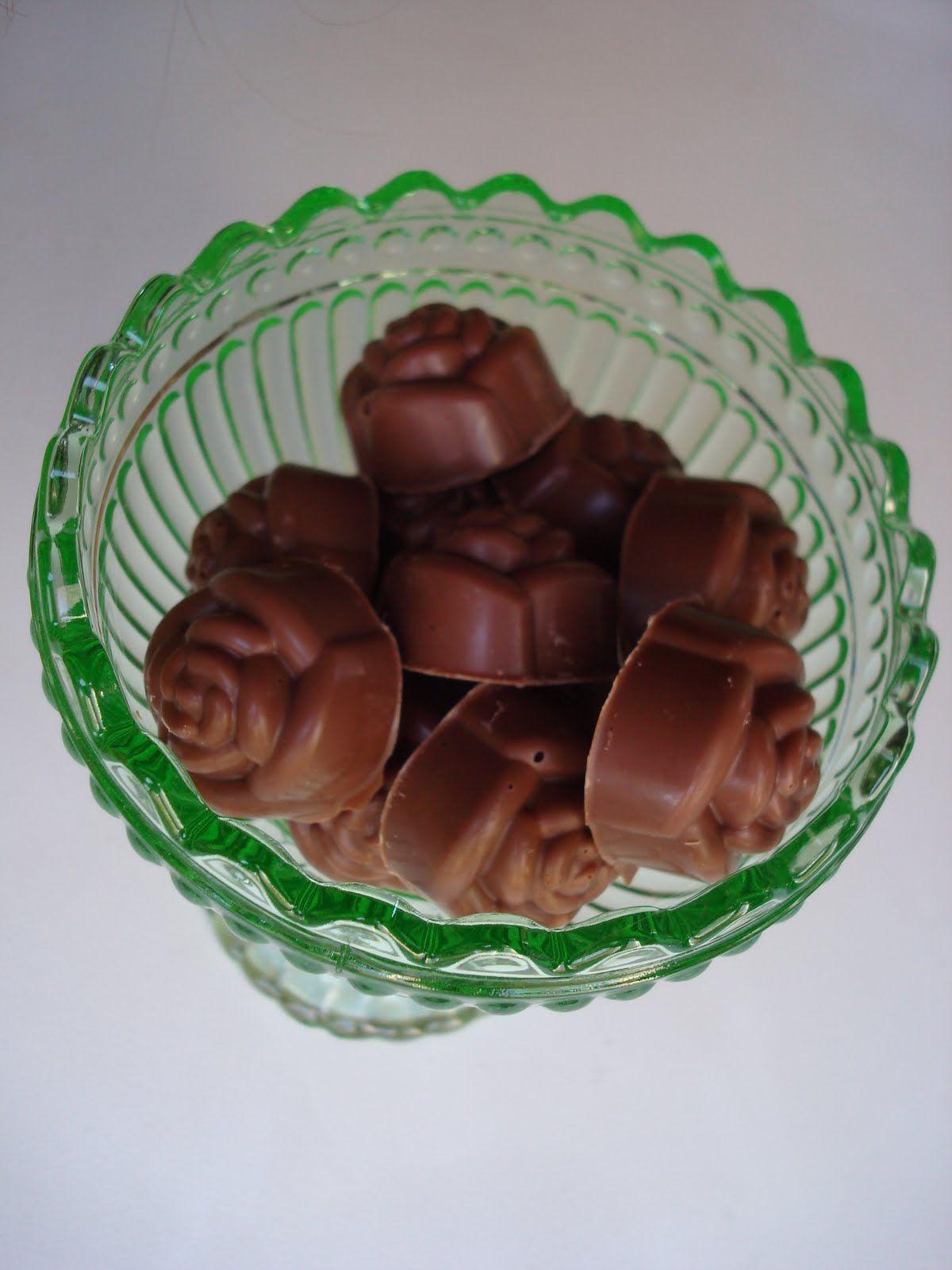 att göra chokladpraliner