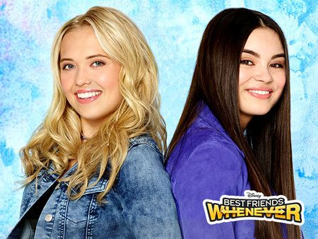 Cyd Ripley And Shelby Marcus Gain The Power To Leap Forward And Backward In Time Whenever They Want A Best Friends Whenever Beat Friends Disney Best Friends