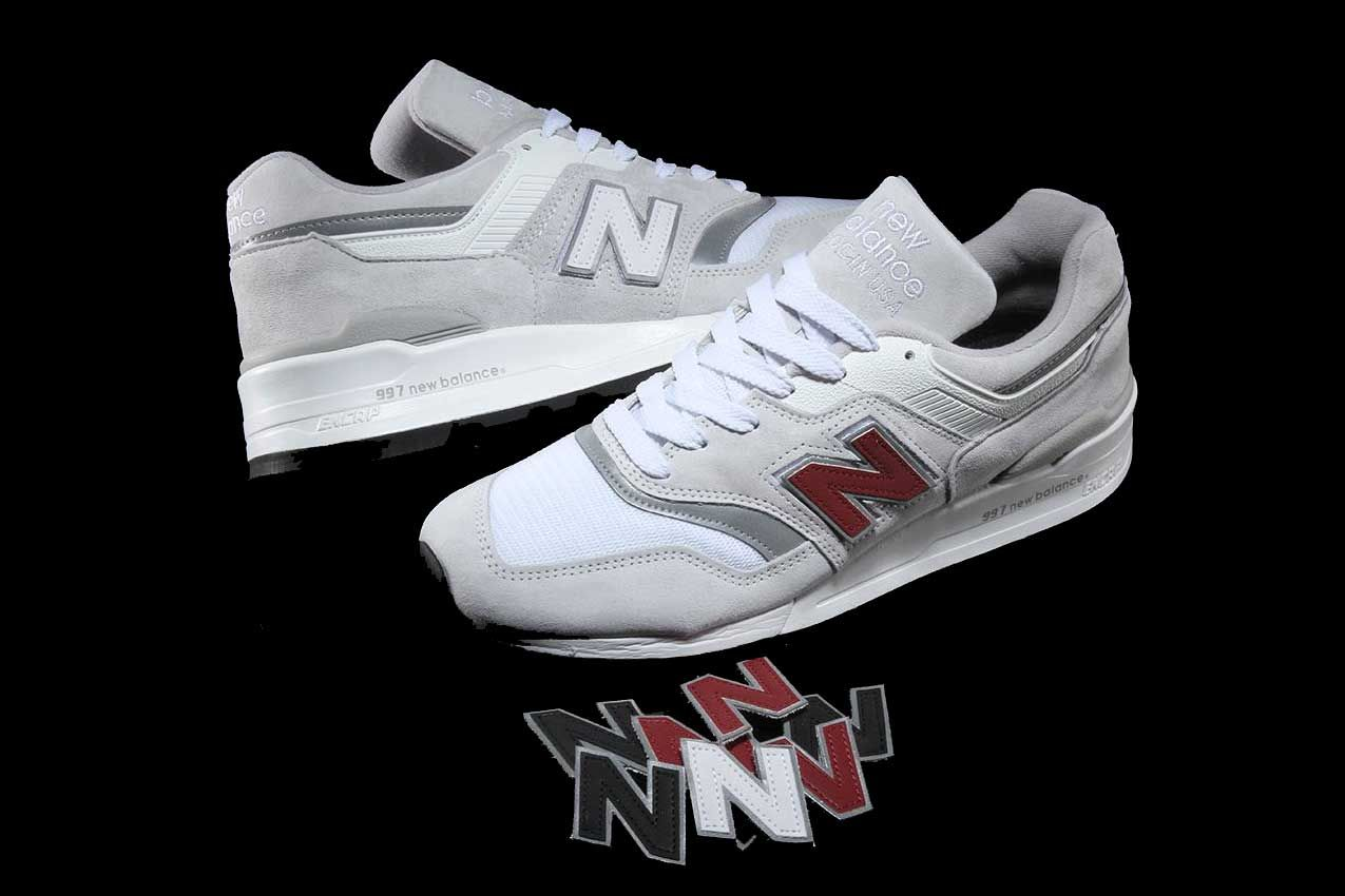 """New Balance 997 Now Equipped With Switchable """"N"""" Logos"""
