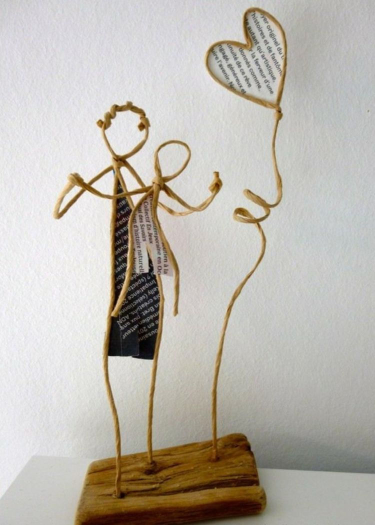 Photo of Craft figures with paper and wire for any decoration occasion with this DIY guide