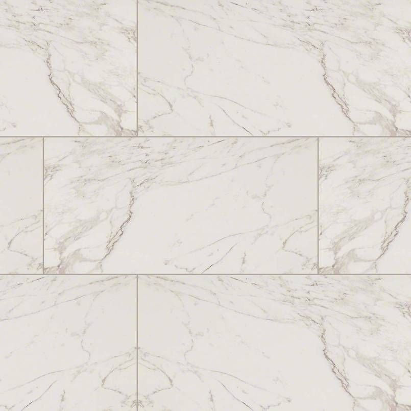Carrara porcelain tiles from the pietra collection feature for How to care for carrara marble countertops
