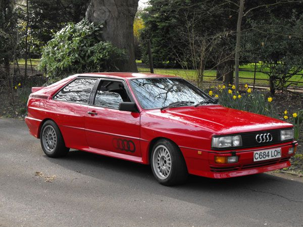 Audi UR Quattro (1980-1991) | Dream Cars | Pinterest