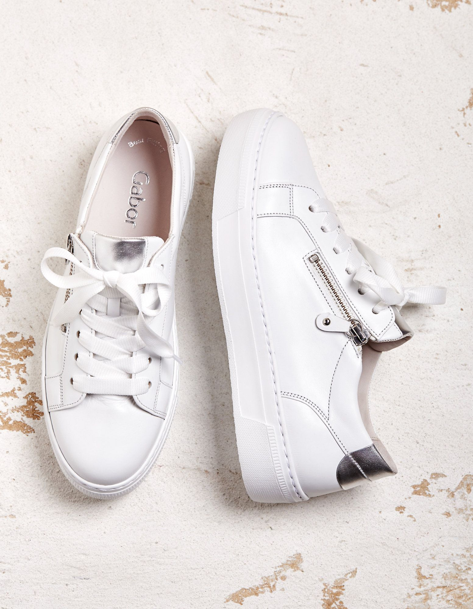 Sneaker Irmina von Gabor in weiß   Deerberg