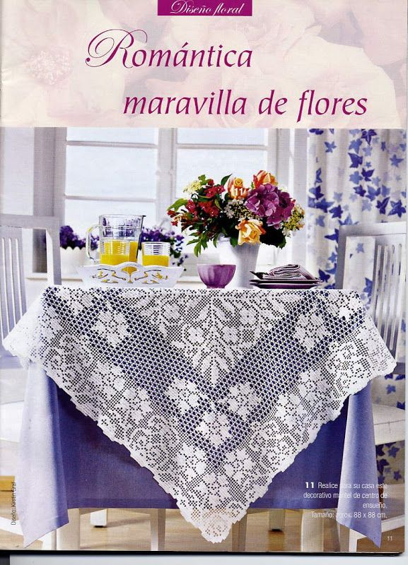 crochet - filet edgings - barrados / bicos filet - Raissa Tavares ...
