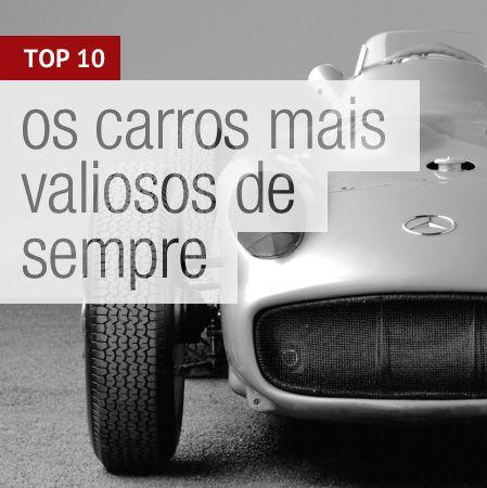 Os carros mais valiosos do mundo