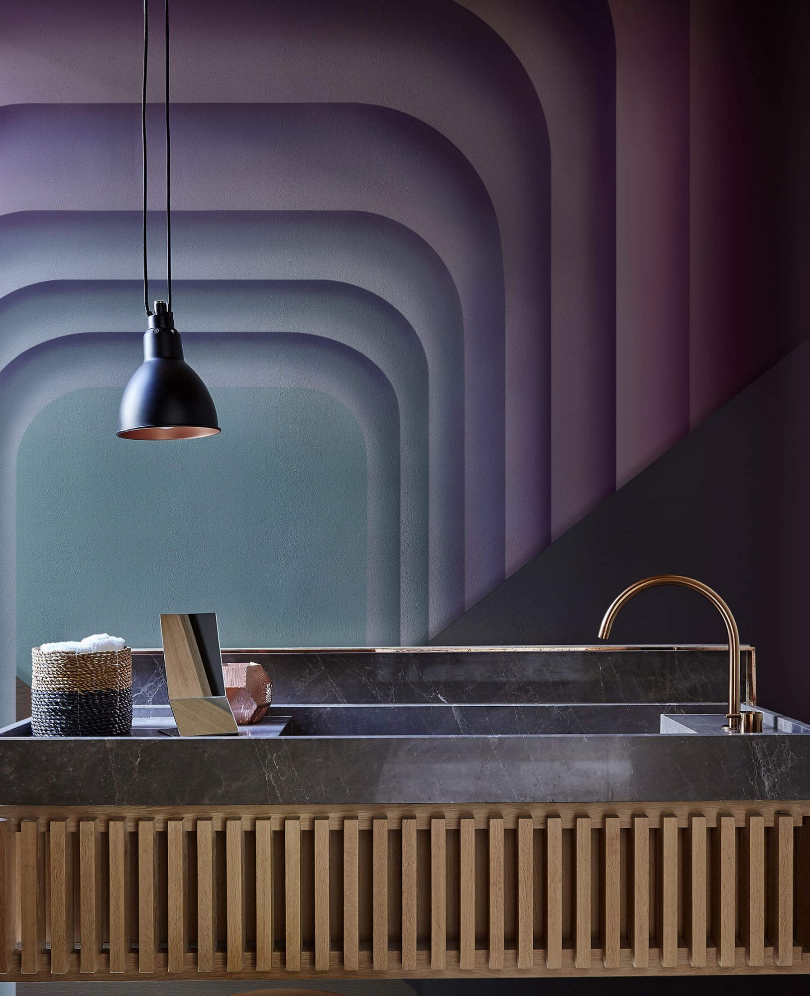 Wallcovering for bathroom and wellness spaces New Glamora
