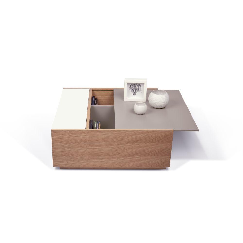 Stolek Dann Oak S Uloznym Prostorem 75x77x30 Cm Bonami Table Coffee Table Furniture [ 1000 x 1000 Pixel ]