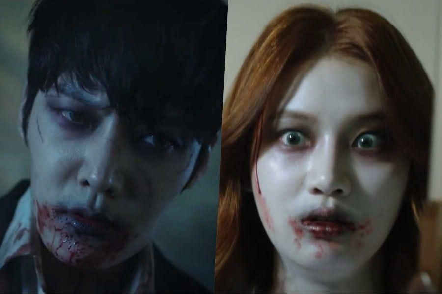 Watch: Choi Jin Hyuk And Park Ju Hyun Make A Frightening Transformation In New Teaser For Zombie Drama