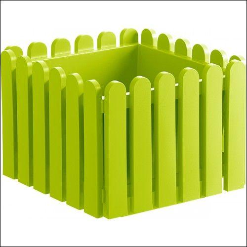 Vaso fioriera quadrato cm 38x38x31h colore verde - 23,60€ - SuQui Shopping by workweb