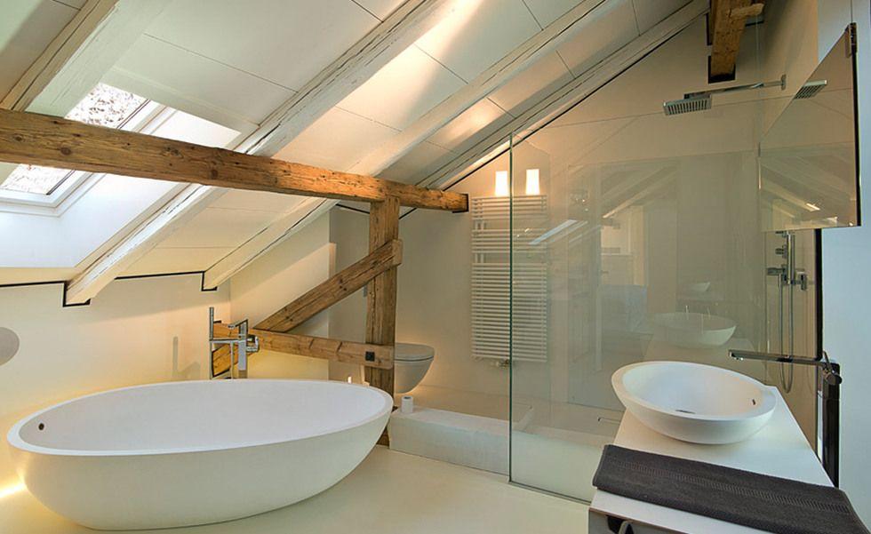 villa imberg in salzburg dachgeschosswohnung einrichten und wohnen pinterest badezimmer. Black Bedroom Furniture Sets. Home Design Ideas