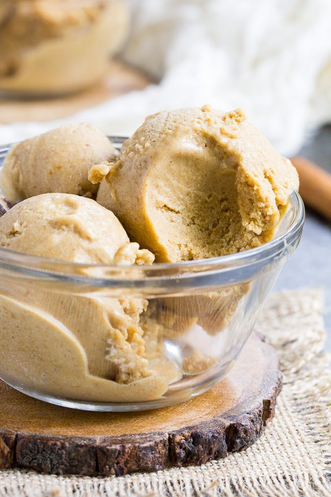 Pumpkin Pie Paleo Vegan Ice Cream