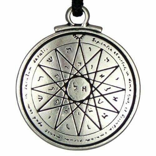 'The Fourth Pentacle of Mercury' one of many Seals attributed to King Solomon, 2nd son of David, and 3rd King of Israel and Master Magician.          ✌    ~Blessed Be