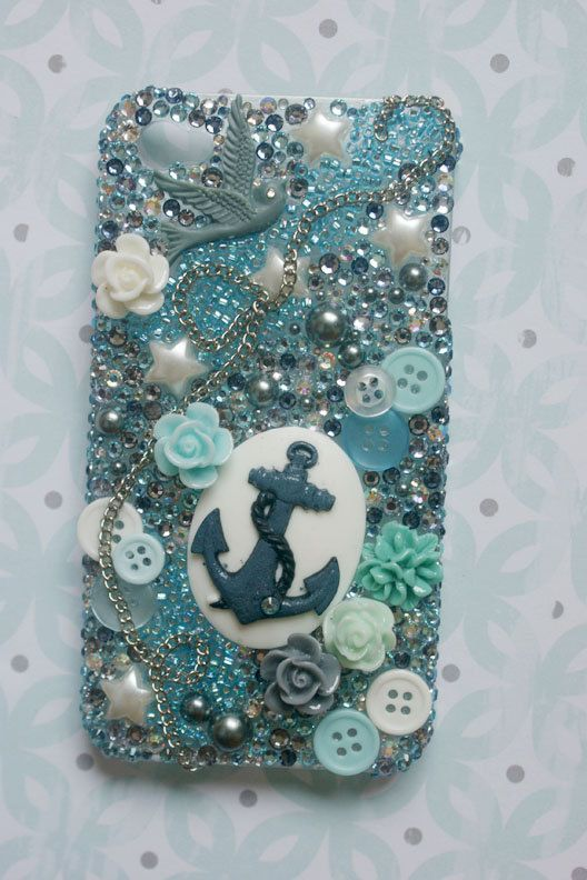 Anchor deco Iphone 4 case by Lonelystarx on Etsy, $35.00 ...