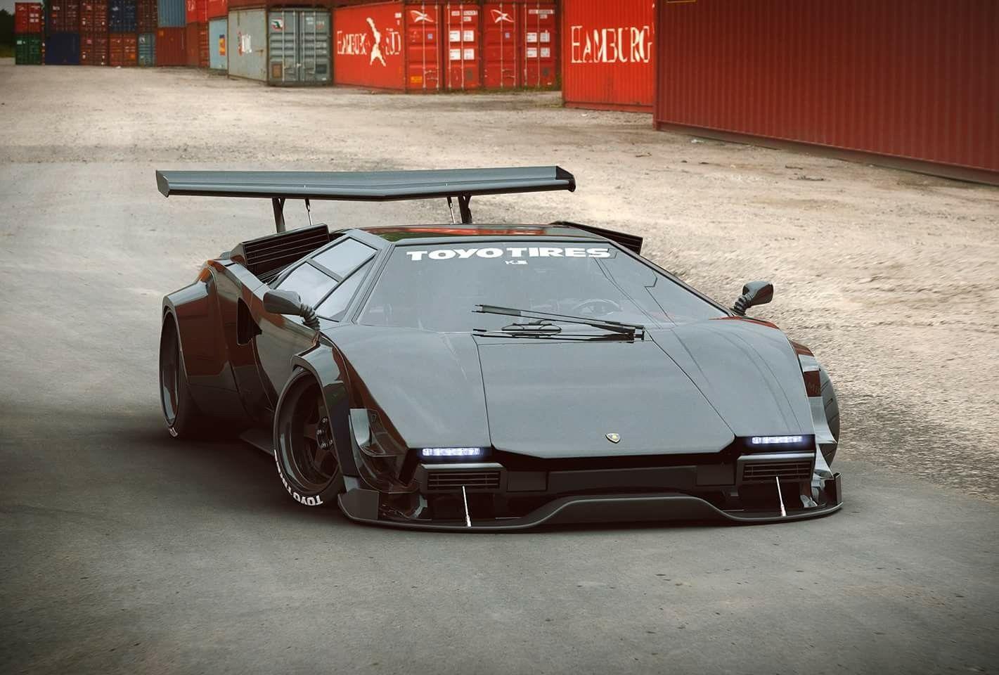 Lamborghini Countach Concept Super Cars Lamborghini Countach Lamborghini