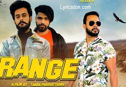 Range Lyrics Aman Ft Saurabh Tanwar Lyrics Don Latest Song Lyrics In 2020 Latest Song Lyrics Lyrics Songs