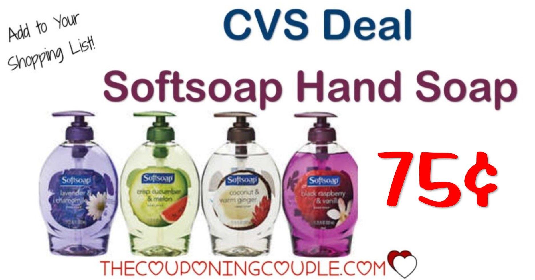 Softsoap Hand Soap Pump 0 75 Cvs In 2020 Softsoap Hand Soap Pump Soap