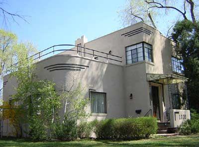 Art Moderne, Denver | Cool Houses | Pinterest | Denver, Art deco and ...