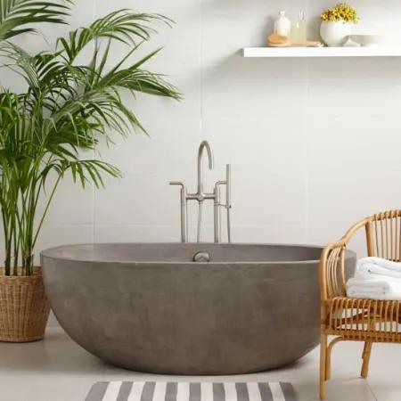 Native Trails Nst6236 Build Com In 2020 Free Standing Bath Tub Japanese Soaking Tubs Concrete Bathtub