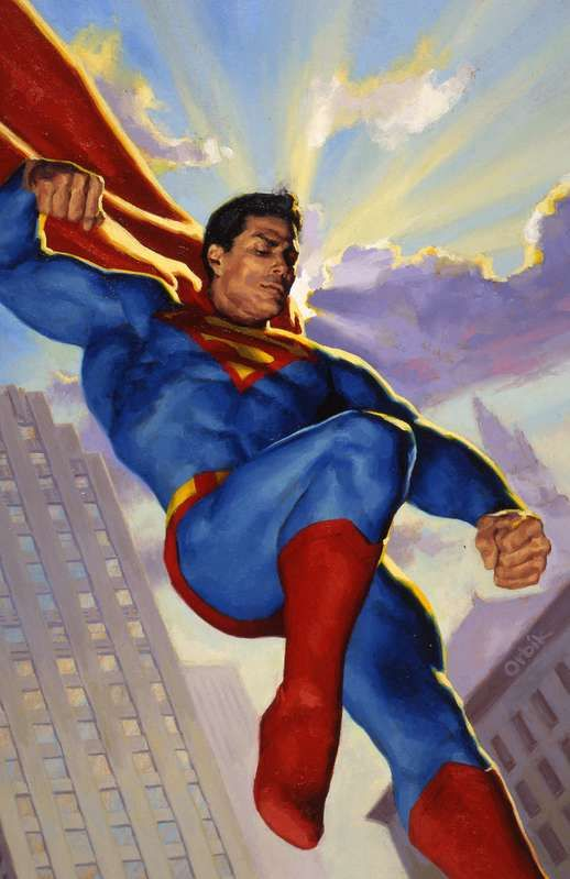 #Superman #Fan #Art. (Legends of the DC Universe #3) By: Glen Orbik. (THE * 5 * STÅR * ÅWARD * OF: * AW YEAH, IT'S MAJOR ÅWESOMENESS!!!™)[THANK U 4 PINNING!!!<·><]<©>ÅÅÅ+(OB4E)