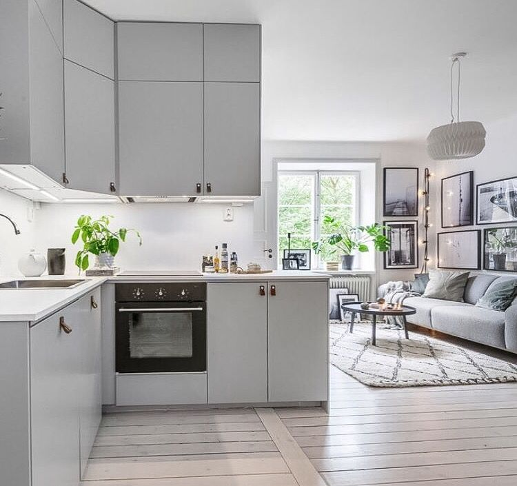 scandinavianhomes interious minimalistische k che k che och k chengriffe. Black Bedroom Furniture Sets. Home Design Ideas