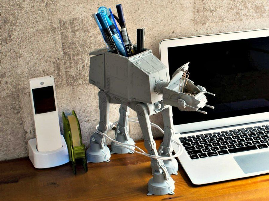 At At Multi Stand Is The Must Have Desk Caddy For Every Star Wars
