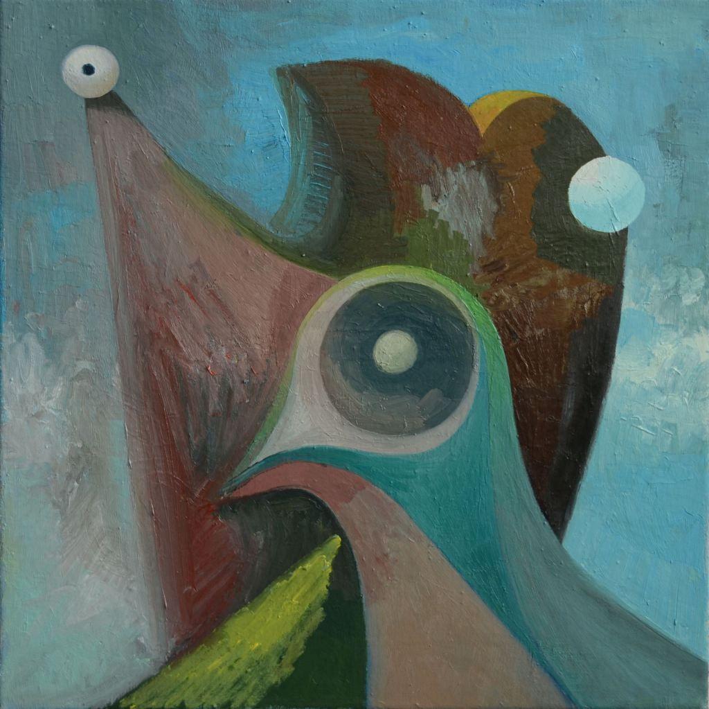 Pigeon, 70x70cm, 2015