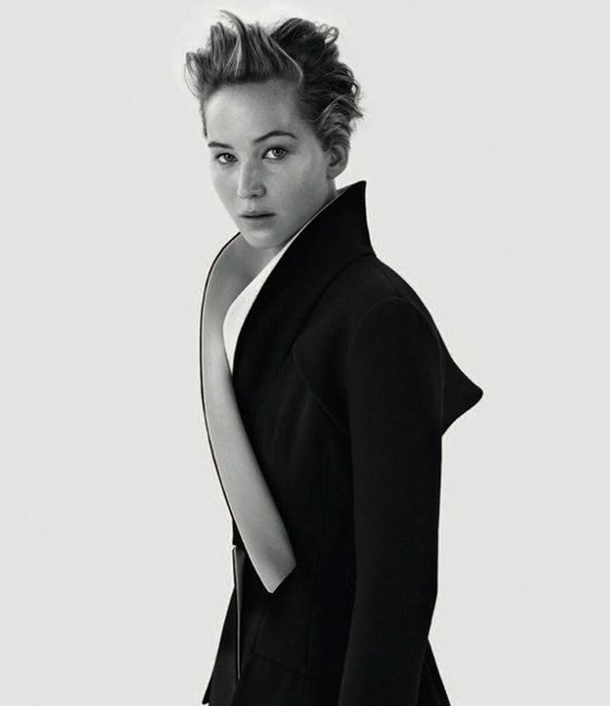 Jennifer Lawrence in Dior Magazine No. 3