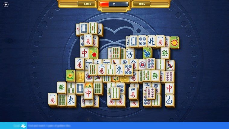 Microsoft Mahjong screen shot 6 Casual game, Windows