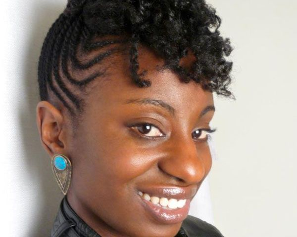 Admirable 1000 Images About Natural Braided Hairstyles On Pinterest Black Short Hairstyles For Black Women Fulllsitofus