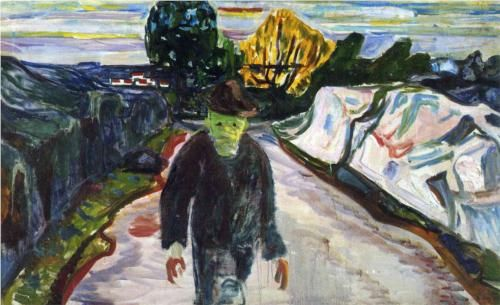 The Murderer - Edvard Munch 1910