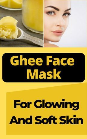 Ghee Face Mask For Glowing And Soft Skin