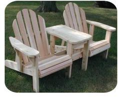 double adirondack chair plans. Twin Adjustable Adirondack Chair Plans Double