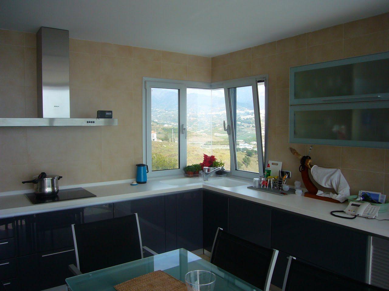 Ventanas esquineros vista de la mencionada ventana dese - Cocinas en esquina ...