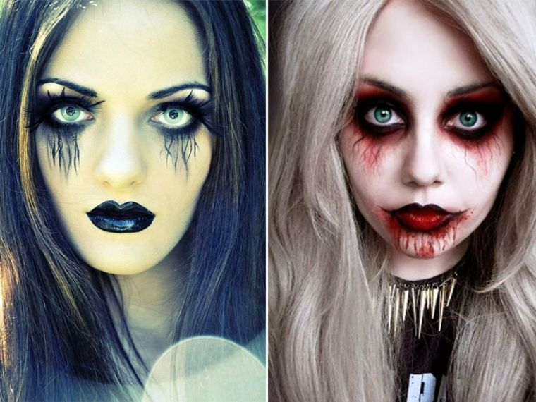 Maquillaje para hombre y mujer para Halloween