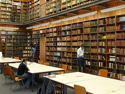 Bibliothek Goethe Uni