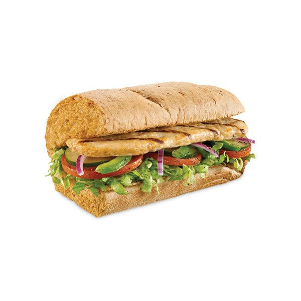 Sub Sandwiches - Breakfast, Sandwiches, Salads & More   SUBWAY® ❤ liked on Polyvore featuring home, kitchen & dining and filler